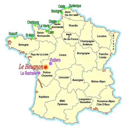 Bed and Breakfast near Parthenay